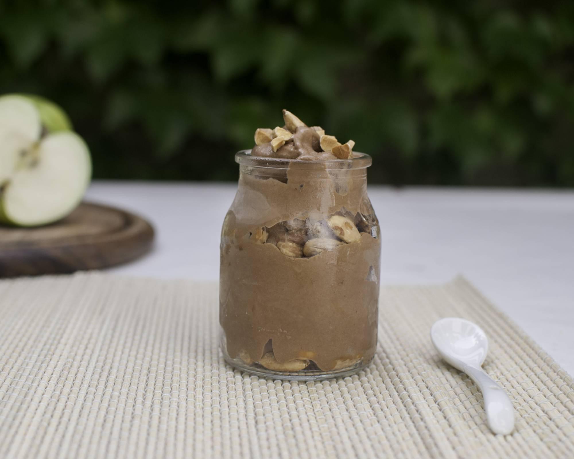 Hazelnut Healthy Ice Cream Recipe By Weight In Mind